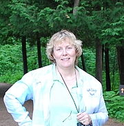 Kirjailijan kuva. I have discovered a new hobby - Geocaching Here I am at Itasca State Park near the headwaters of the Mississippi River in Minnesota.