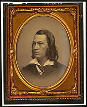 Författarporträtt. George Lippard (1822-1854), circa 1850 (Daguerreotype Collection, Library of Congress Prints and Photographs Division, Reproduction Number: LC-USZC4-6548)