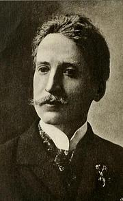 Foto de l'autor. Georges Rodenbach. Frontispiece from Georges Rodenbach (1920) by Georges Ramaekers