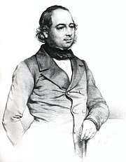 Foto del autor. John Gould FRS, by T.H. Maguire. Wikimedia Commons.
