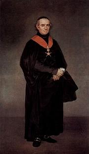 Författarporträtt. Francisco de Goya y Lucientes, 1810-1811