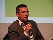 Fotografia de autor. Raul Zelik. Photo courtesy of Heinrich-Böll-Stiftung.