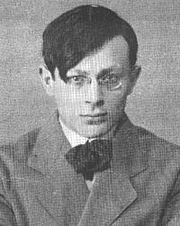 """Author photo. From <a href=""""http://en.wikipedia.org/wiki/Image:Tristan_Tzara.jpg"""">Wikimedia Commons</a>"""