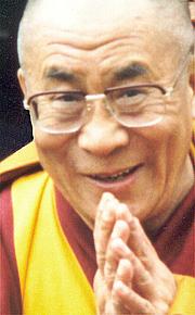 Författarporträtt. H.H. Dalai Lama XIV, Tenzin Gyatso