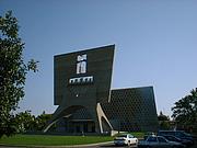 Forfatter foto. St. John's Abbey, Collegeville, Minnesota.  Photo by Kris Kampshoff / Wikimedia Commons.