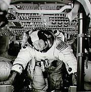 Författarporträtt. 1971, Apollo 15 training