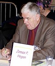 Kirjailijan kuva. Szymon Sokól (Worldcon 2005, Glasgow)