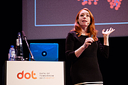 """Author photo. By Sebastiaan ter Burg from Utrecht, The Netherlands (Hannah Fry at the Data of Tomorrow Conference 2017) [CC BY 2.0 (<a href=""""http://creativecommons.org/licenses/by/2.0"""" rel=""""nofollow"""" target=""""_top"""">http://creativecommons.org/licenses/by/2.0</a>)], via Wikimedia Commons"""