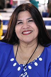 """Foto del autor. Author Guadalupe Garcia McCall at the 2018 Texas Book Festival, Austin, Texas, United States By Larry D. Moore - Own work, CC BY-SA 4.0, <a href=""""https://commons.wikimedia.org/w/index.php?curid=73932904"""" rel=""""nofollow"""" target=""""_top"""">https://commons.wikimedia.org/w/index.php?curid=73932904</a>"""