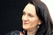 "Foto do autor. Terézia Mora, Leipzig Book Fair 2015 By Lesekreis - Own work, CC0, <a href=""https://commons.wikimedia.org/w/index.php?curid=39201883"" rel=""nofollow"" target=""_top"">https://commons.wikimedia.org/w/index.php?curid=39201883</a>"
