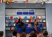 """Forfatter foto. Luzia Braun und Hilal Sezgin auf der Leipziger Buchmesse 2011 By Liesel - Self-photographed, CC BY-SA 3.0, <a href=""""https://commons.wikimedia.org/w/index.php?curid=14641086"""" rel=""""nofollow"""" target=""""_top"""">https://commons.wikimedia.org/w/index.php?curid=14641086</a>"""