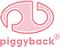 Forfatter foto. Piggyback Logo