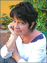 Fotografia de autor. Linda in her San Miguel de Allende garden