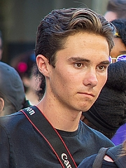 Fotografia de autor. David Hogg at the Rally to Support Firearm Safety Legislation in Fort Lauderdale, February 17, 2018