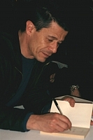 Forfatter foto. Emmanuel Carrère, photo by Jean-Marie David