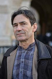 Författarporträtt. Benoît Peeters à la Marche des auteurs, Festival d'Angoulême 2015