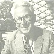Forfatter foto. Claude David en 1983 à l'occasion du mélange offert pour son 70eme anniversaire (Edition Lang)