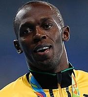 Fotografia de autor. Usain Bolt at the 2016 Summer Olympics.