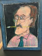 Författarporträtt. James Marshall (1) self portrait