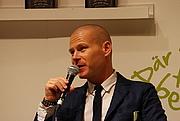 Foto do autor. The Swedish writer Mons Kallentoft at Göteborg Book Fair 2013 by Mattias Blomgren