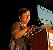"""Author photo. At the 2016 National Book Festival, on September 24, 2016 in Washington, DC, Kieister White spoke. By Geraldshields11 - Own work, CC BY-SA 4.0, <a href=""""https://commons.wikimedia.org/w/index.php?curid=51984108"""" rel=""""nofollow"""" target=""""_top"""">https://commons.wikimedia.org/w/index.php?curid=51984108</a>"""