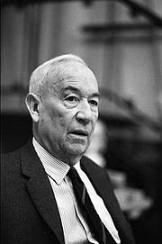Author photo. Paul Morand en 1970