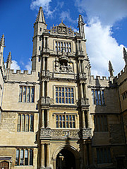 Author photo. Bodleian Library, Oxford. Photo by Laurent / Flickr.