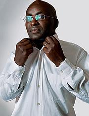 Kirjailijan kuva. Achille Mbembé