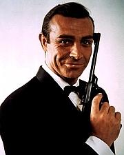 Foto do autor. Sean Connery as James Bond.