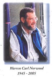 Author photo. Warren Norwood.
