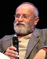 """Author photo. The Austrian Germanist Professor Rudolf Simek at Ring*Con 2012 in Bonn, Germany. By Diane Krauss (DianeAnna) - Own work, CC BY-SA 4.0, <a href=""""https://commons.wikimedia.org/w/index.php?curid=48171855"""" rel=""""nofollow"""" target=""""_top"""">https://commons.wikimedia.org/w/index.php?curid=48171855</a>"""