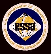 Foto de l'autor. Official patch of the ESSA [credit: NOAA]