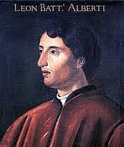 Foto de l'autor. Leon Battista Alberti (1404-1472)