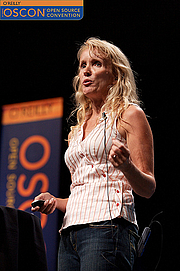 """Forfatter foto. By <a href=""""http://www.flickr.com/photos/x180/"""">James Duncan Davidson/O'Reilly Media</a>, at OSCON 2006."""