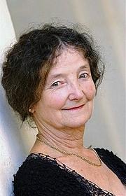 Foto do autor. Marie Rouanet le 20 septembre 2003 au 25e festival des livres de Nancy