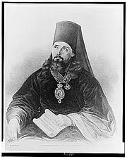 "Fotografia de autor. Innokentii, Metropolitan of Moscow, called the ""Apostle of Alaska"". (Library of Congress Prints and Photographs Division LC-USZ62-132144)"