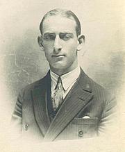 Foto do autor. Raymond Aron dans les années 1920