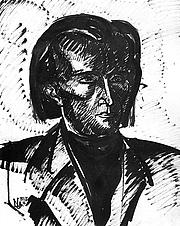 Kirjailijan kuva. Nemes Lampérth József