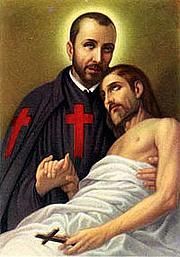 Foto do autor. Saint Camillus de Lellis /Wikipedia