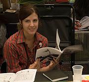 Författarporträtt. Stumptown Comics Fest 2006, photo by Joshin Yamada