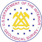 Forfatter foto. Seal of the U.S. Geological Survey