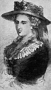 Fotografia de autor. Anne Ward Radcliffe. Wikimedia Commons.
