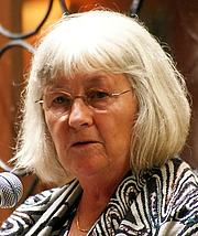 """Author photo. Cropped version of <a href=""""http://commons.wikimedia.org/wiki/File:Barbro_Lindgren_p%C3%A5_Stockholms_Kulturfestival_-_1.JPG"""" rel=""""nofollow"""" target=""""_top"""">Wikipedia image</a>"""