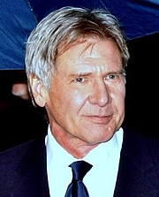 Forfatter foto. Harrison Ford in Paris at the César awards ceremony, January 22, 2010 [Source: Georges Biard]