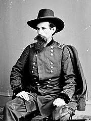 Kirjailijan kuva. Lew Wallace (1827-1905), Civil War photograph (Library of Congress, Prints and Photographs Division, Brady-Handy Collection, reproduction number LC-DIG-cwpbh-00934)