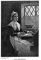 Foto de l'autor. Illustration from <i>An Account of Anne Bradstreet The Puritan Poetess and Kindred Topics<i> by Col. Luther Caldwell, 1898