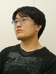 Kirjailijan kuva. Kawahara Reki