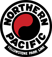 "Foto del autor. This is a Northern Pacific Railway Logo from November, 1952. Scanned from NP Form NP-5657 Booklet and traced in Adobe Illustrator CC 2017. By Source (WP:NFCC#4), Fair use, <a href=""https://en.wikipedia.org/w/index.php?curid=53332718"" rel=""nofollow"" target=""_top"">https://en.wikipedia.org/w/index.php?curid=53332718</a>"