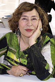 "Kirjailijan kuva. Author Azar Nafisi at the 2015 Texas Book Festival. By Larry D. Moore, CC BY-SA 4.0, <a href=""https://commons.wikimedia.org/w/index.php?curid=44476478"" rel=""nofollow"" target=""_top"">https://commons.wikimedia.org/w/index.php?curid=44476478</a>"