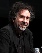 Författarporträtt. Tim Burton